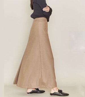 ロングスカート写真